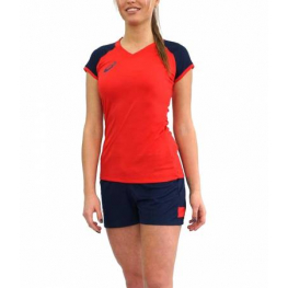 Волейбольная форма ASICS WOMAN VOLLEYBALL CAP SLEEVE SET   (W)